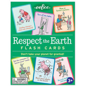 Respect The Earth Flash Cards (2ED)