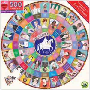 Votes for Women 500 Piece Round Puzzle