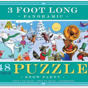 Snow Party 48 Piece Panoramic Puzzle