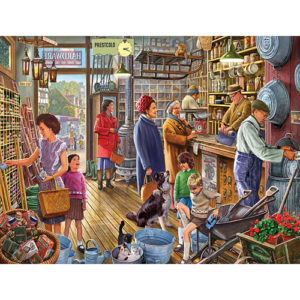 The Hardware Store-550 Piece Puzzle-White Mountain Puzzles